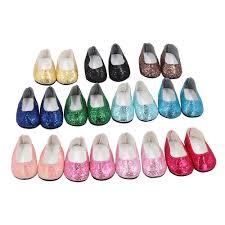 1 Pair 7.5cm PU Leather Princess <b>Shoes For Doll</b> Fashion Mini Toy ...