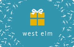 Buy West Elm Gift Cards | GiftCardGranny