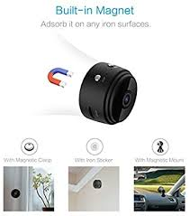 Spy <b>Camera Wireless</b> Hidden <b>WiFi Camera</b> AREBI HD 1080P <b>Mini</b> ...