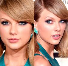 Resultado de imagem para taylor swift maquiagem grammy 2015 olhos fechados