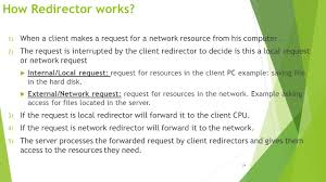 lecture services of network operating systems soon alduwais 1 when a client makes a request for a network resource