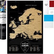 ROZETKA   Скретч-<b>карта 1DEA.me Travel</b> Map Black Europe (BE ...