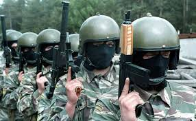 <b>Russia's special forces</b> are gaining prominence and clout