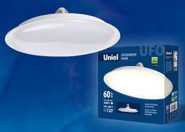 Светодиодная <b>лампа LED</b>-<b>U270</b>-<b>60W</b>/<b>6500K</b>/<b>E27</b>/<b>FR PLU01WH</b> ...