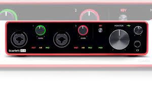 <b>Аудио интерфейс focusrite Scarlett 4i4</b> 3rd Gen купить в Москве с ...