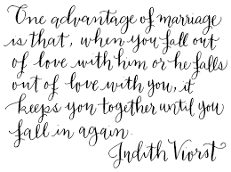 Words to Love By No. 25 | Quote by Judith Viorst via Relatably.com