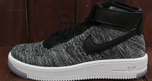 nike flyknit air force 1 mid dropping in two oreo colorways nice kicks air force 1 mid
