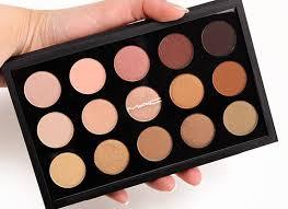 mac eyeshadow makeup kit warm neutral