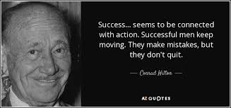 TOP 18 QUOTES BY CONRAD HILTON | A-Z Quotes