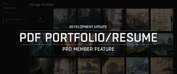 pdf portfolios resumes