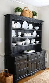 ideas china hutch decor pinterest: decorate farm house kitchen hutch with white dishes