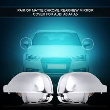 WALFRONT <b>1 Pair</b> Rearview Mirror Shell Cover Protection Cap ...