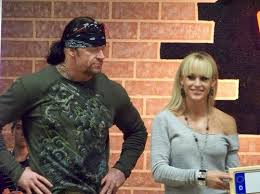 Mark Calaway with Wife Michelle McCool