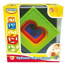 """Дит. іграшка Be <b>Be Lino</b> """"<b>Кубики</b>-пірамідки"""" 57028, цена 179 грн ..."""