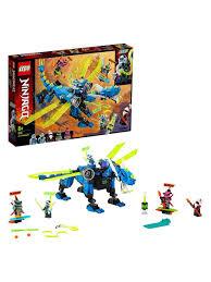 <b>Конструктор LEGO NINJAGO</b> 71711 <b>Кибердракон</b> Джея LEGO ...