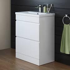 White Bathroom Units Trent Gloss White Bathroom Furniture Trent Gloss White Vanity