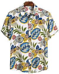 Buy Iuhan <b>Men</b> Short Sleeve Blouse T-Shirt <b>Turn-Down Collar</b> Shirt ...