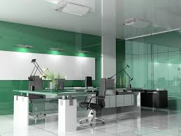 agreeable modern office interior design office interior with gloss green wall business office interior design business office modern