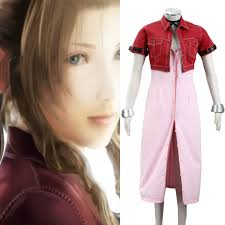 <b>Anime Final Fantasy</b> VIII Aeris Women's Performance <b>Cosplay</b> ...