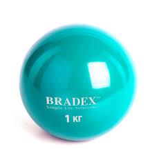 <b>Bradex Медбол</b> 1 кг - Акушерство.Ru