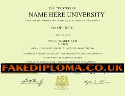 superior fake diploma fake degrees fake university degree novelty diploma