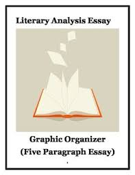 literature paragraph and language on pinterest literary analysis essay graphic organizer