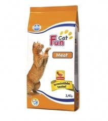 Сухой корм для кошек Farmina <b>Fun Cat</b> MEAT 2,4 кг - интернет ...