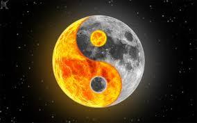 Risultati immagini per yin e yang sole e luna