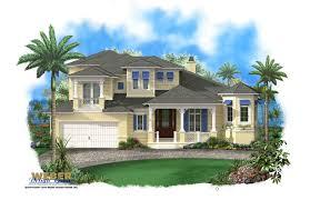 Florida house plan   Coastal House Plan   Waterfront House Plan    Coastal House Plan  Print Elevation   View Larger Image