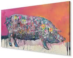 Картина «Животное цветное <b>счастливое</b>». Художник Катя ...