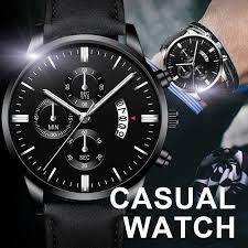 Мода <b>Мужчины</b> Бизнес Смотреть Кожа <b>кварц Wristwatch</b> ...