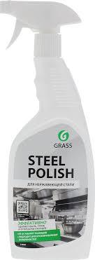 """<b>Очиститель</b> для <b>нержавеющей</b> стали <b>Grass</b> """"Steel Polish"""", 600 мл"""