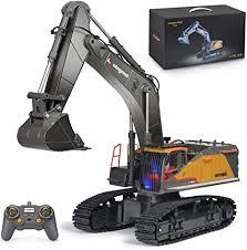kolegend Remote Control Excavator Toy 1/14 Scale ... - Amazon.com