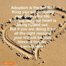 Adoption Quotes - Abby's via Relatably.com