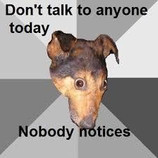 Depression Dog | Know Your Meme via Relatably.com