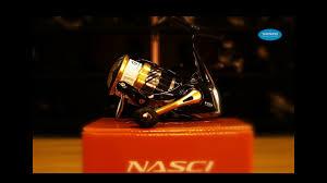 Обзор <b>катушек SHIMANO 16 Nasci</b> FB - YouTube