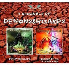 <b>Demons</b> & <b>Wizards</b>/ <b>Touched</b> By The Crimson King: Amazon.co.uk ...