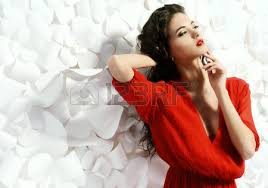 <b>Fashion Woman Flower</b> Stock Photos. Royalty Free Fashion Woman ...