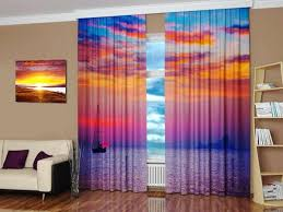room prints window treatments