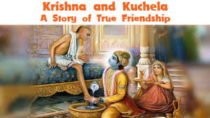 Friendship Dav Krishna Sudama Best Wishes in hindi Image for free download
