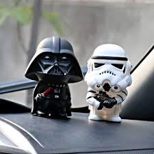 <b>2pcs</b> Star Wars Vader Soldier Dolls Interior Dashboard Desk ...