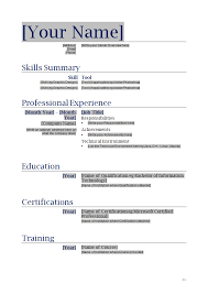 printable resume templates for free template free online resume template download