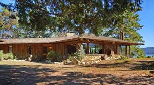 Frank Lloyd Wright inspired oceanfront home  on Salt Spring Island    Very Special Oceanfront A Frank Lloyd Wright inspired