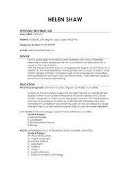 resume format samples good  seangarrette coexamples of good and bad cvs   resume format samples good