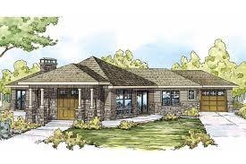Prairie Style House Plans   Baltimore     Associated DesignsPrairie Style House Plan   Baltimore     Front Elevation