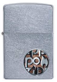 <b>Зажигалка Button</b> Logo <b>ZIPPO</b> 29872