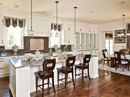 Kitchen Island Bar Table Kitchen Island With Stools Hgtv