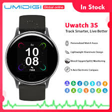 <b>UMIDIGI Uwatch 3S Smart</b> Watch Men Women 5ATM Waterproof For ...