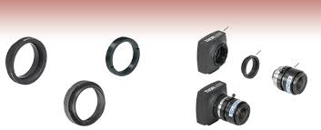 Optical Component Threading <b>Adapters</b> with <b>CS</b>- and <b>C</b>-Mount (1.00 ...