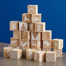 Etched <b>Wooden Blocks</b> + Reviews | Crate and Barrel | Детские ...